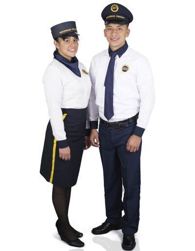Dotación Seguridad Privada dama y caballero